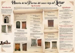 Hisoria puertas antiguas Letur