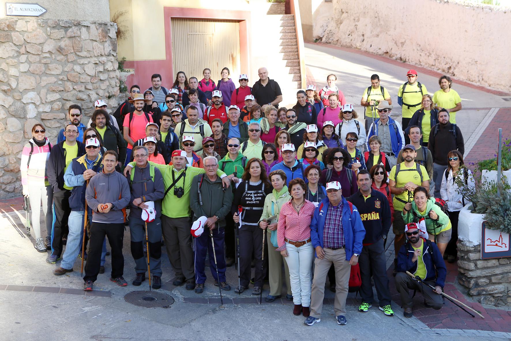 Senderistas participantes_La Mancha Press_Luis Vizcaíno__1577-2